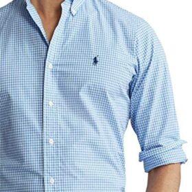 camisa hombre cuadro vichy