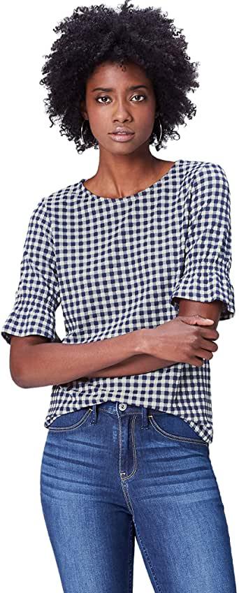 blusa de manga corta