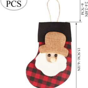 Mini calcetín navideño